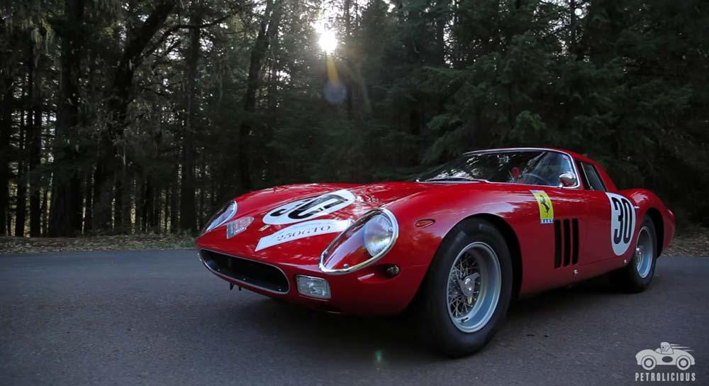 65億円もするフェラーリ250GTOをゆっくり眺める