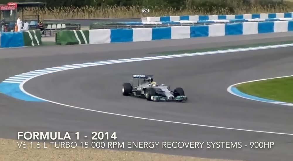 その価格差10〜20倍!しかし音は・・。 2014年F1とインディーカーのエンジン音が変わらない