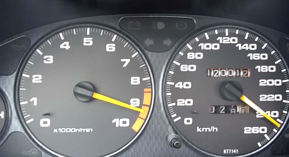 NA VTEC最高だぜ! 9500rpmまでぶん回しながら DC2 インテグラ タイプRで○○○km/hまで加速