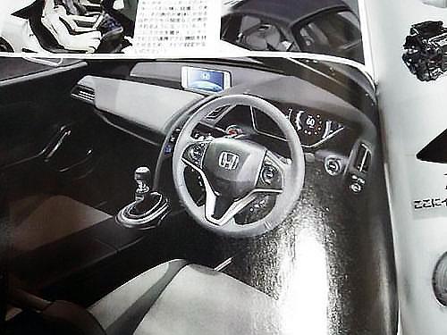 【6速MT & ターボ確定!】ホンダS660の燃費や内装について内部資料が流出