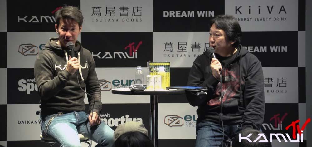 【やっぱり2015年F1参戦は厳しい?】小林可夢偉が2015年の活動についてトークショーで語る。