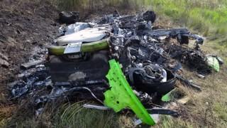 【事故】制限速度205km/hオーバーw ランボルギーニ ウラカンLP610-4が高速道路を335km/hで走行中に大クラッシュ!!!
