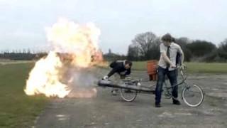 【爆笑】世界で一番危険な自転車を作ってみた
