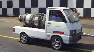 非力な軽トラにジェットエンジン積んだら速くなるんじゃね? → マジでやってみた