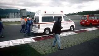 フジスピードウェイをR35 GT-Rで攻め込んだら首を痛めて救急車で運ばれちゃった…