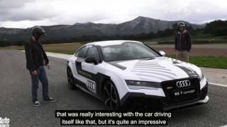【試乗】アウディRS7スポーツバックの自動運転をサーキットで体験したら、速すぎてビビったw