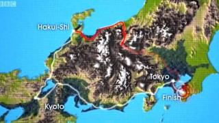 日本海側から太平洋側までクルマと電車で行ったらどちらが速いか? その1