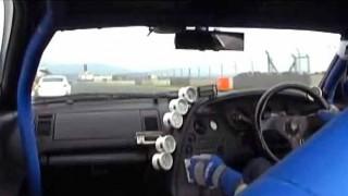 ヒャッハー!w 80スープラでフジシピードウェイ爆走してたらブレーキ効かず…→クラッシュ