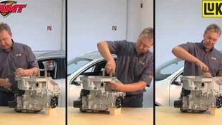 おーなるほど… VWとAudiの7速DSGトランスミッションのクラッチ交換が良く判る映像