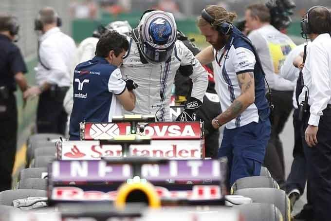 Bottas-Injury