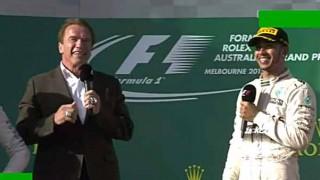 恐怖!? 2015年F1開幕戦オーストラリアGPに、T-800型 ターミネーターが突如として出現!会場はパニック状態に。