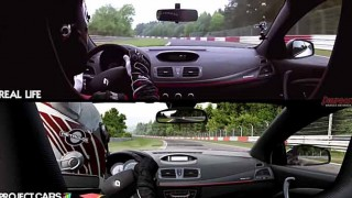 【驚愕】ゲームと現実の見分けが付かない…  Project CARSでルノーメガーヌRSのMTに試乗