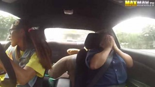 【爆笑】ブーストアップ&フルチューンS15シルビアで運転免許試験に挑む 超ヘタクソドライバーが仕掛けるドッキリがヤバイw