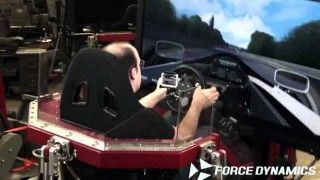 すげぇw 最新のレースシミュレータ用コントローラで セナが乗っていたロータス98Tをドライブ!