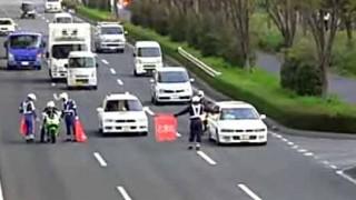 捕まるー!! 国道17号線で実施された 警察の春の交通安全運動 取り締まり映像がガチすぎる…