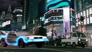 【動画】バックトゥーザフユーチャーの新作!? ヴィン・ディーゼルがデロリアンDMC-12に乗って、渋谷のスクランブル交差点をドリフトしながらタイムスリップ! 嘘ネタ Fast to the Futureが公開される。