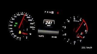 【動画】はえぇーw メルセデスA45 AMGが○○○km/hまでフル加速!