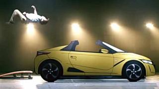 【爆笑】ホンダがオープンカーの新しい乗車方法を提案!! S660の正しい乗り方 ノリセツ(乗り方説明書)の公式動画を配信w 納車や試乗前に覚えておこう!!