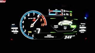 【動画】お値段2970万円 V10エンジンのランボルギーニ ウラカンLP610-4に試乗して○○○km/hまでフル加速!