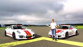 【動画】どんだけ速いんだよw ニュル女王、サビーネ・シュミッツさんが操る ポルシェ911 997GT3 RS 6速MT VS 新型991 GT3 7速PDKがドラッグレース!大変な結末に…